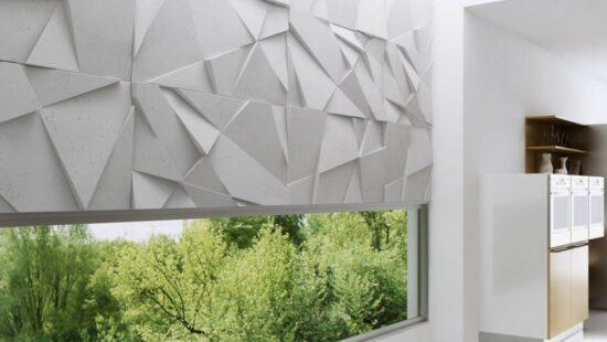 Beton architektoniczny płyty / panele 3d